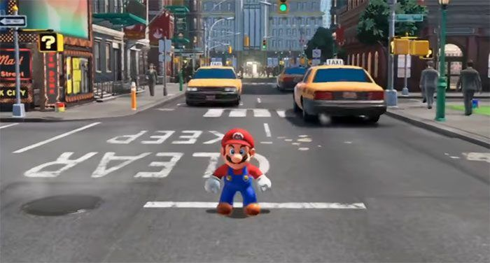 Super Mario Odyssey: un vídeo del juego nos muestra su acción