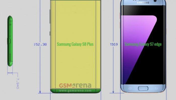 Samsung Galaxy S8 Plus, el hermano escondido aparece
