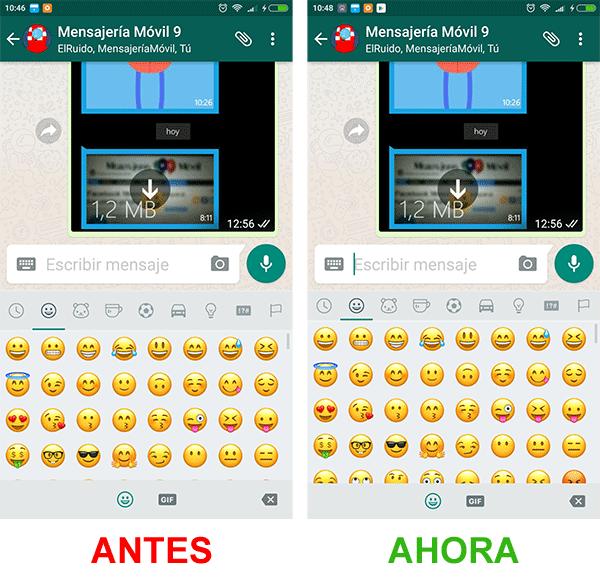 WhatsApp para Android versión Beta