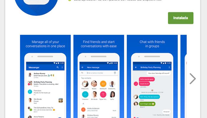 Google Messenger es ahora Mensajes de Android