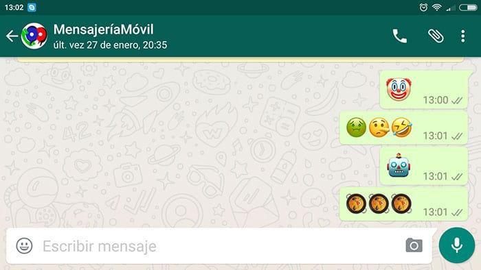 WhatsApp para Android con 198 nuevos emojis