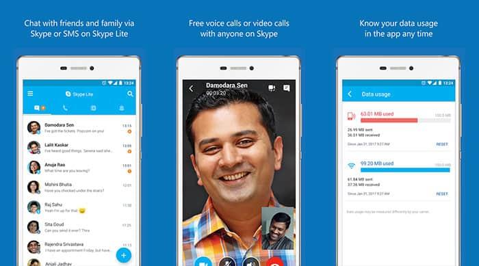 descargar Skype Lite para Android
