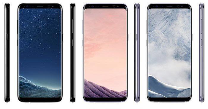 Samsung Galaxy S8 ahora con botón para pantalla completa