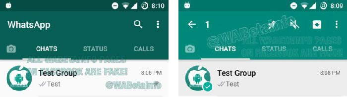 Fijar chats en WhatsApp para Android