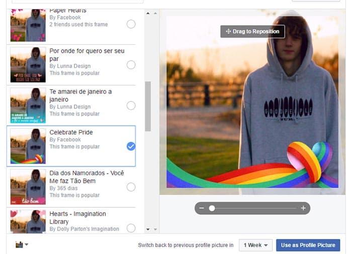 Facebook y la bandera arcoiris
