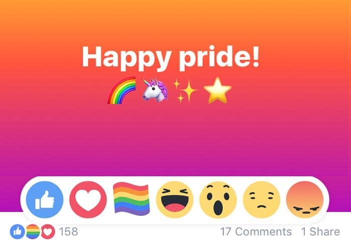 Facebook y la bandera LGBT