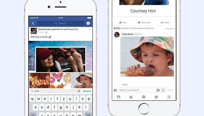 Facebook añade el botón de añadir GIFs