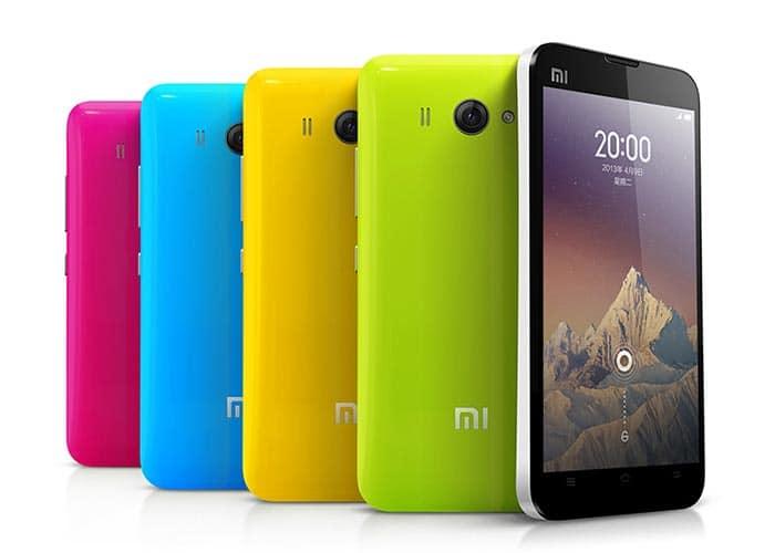 imagen colores Xiaomi Mi 2S