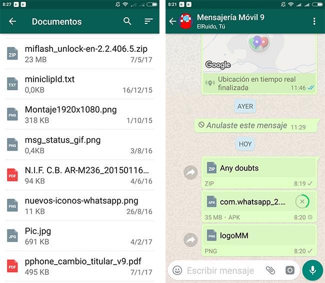 imagen WhatsApp para Android versión 2.17.254