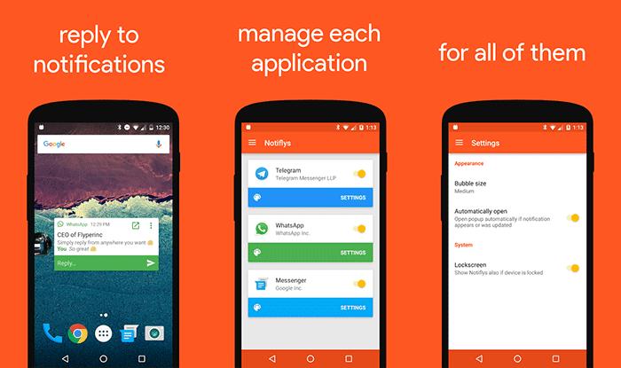imagen Notifly para Android