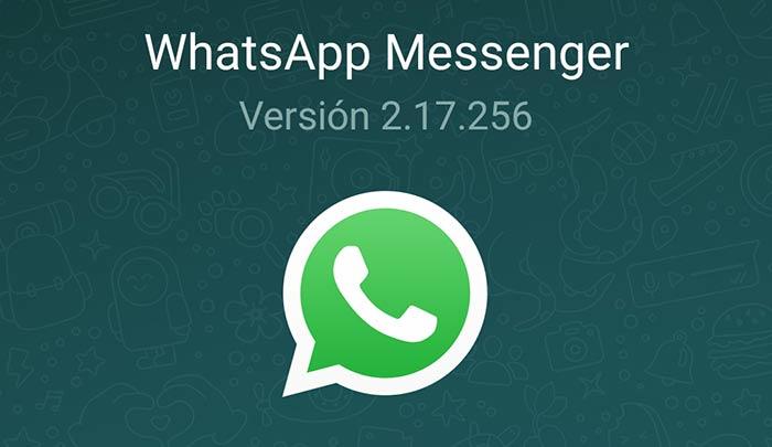imagen WhatsApp para Android 2.17.256