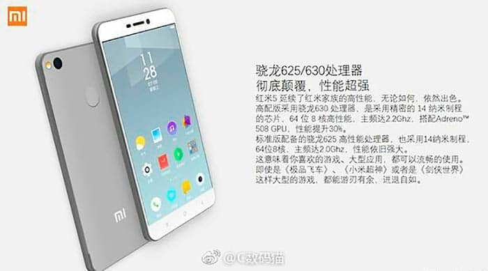 imagen Xiaomi Redmi 5