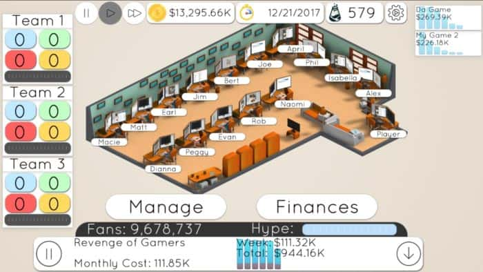 imagen Game Studio Tycoon 2 para Android