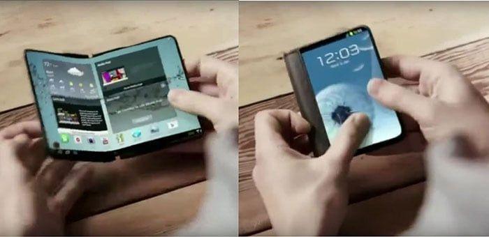 imagen Samsung Galaxy X plegable