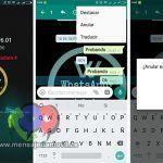 WhatsApp PLUS para Android se actualiza a la nueva versión 6.01