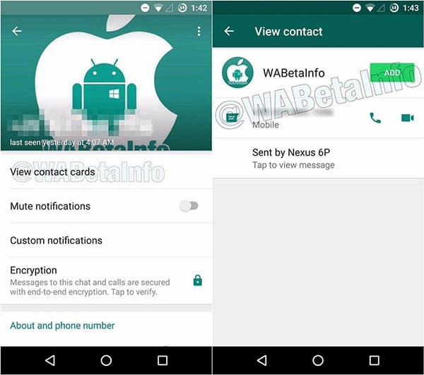 imagen contactos con más información en WhatsApp