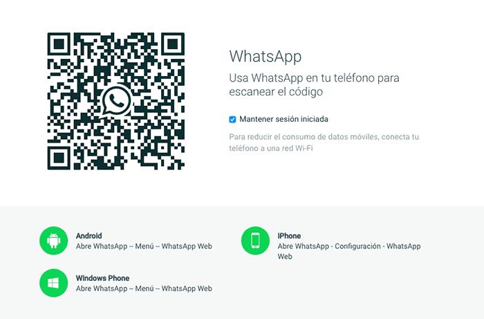 imagen WhatsApp Web