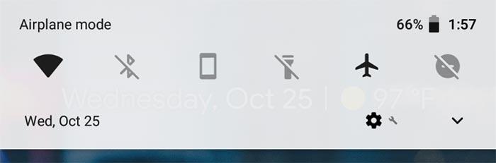imagen Android 8.1 Cambio de colores en las barras