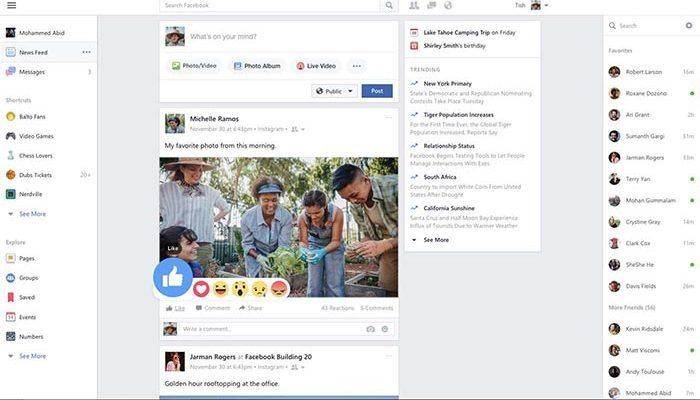 Facebook para Windows 10 recibe una importante actualización