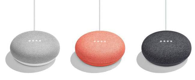 imagen Google Home Mini