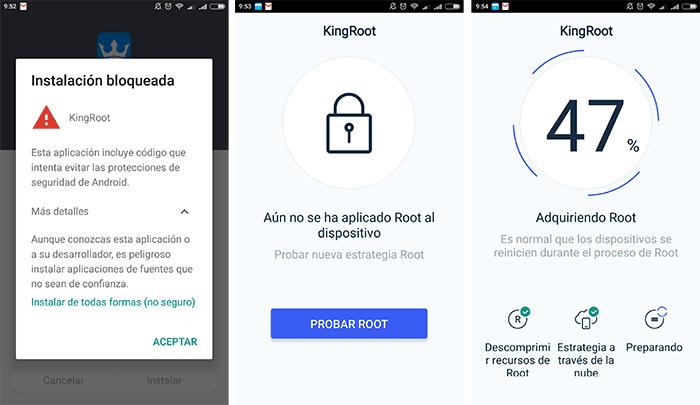 imagen KingRoot para Android
