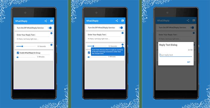 WhatReply For WhatsApp tiene respuestas automáticas para WhatsApp