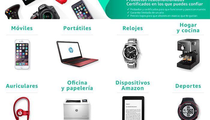 Amazon renewed: productos reacondicionados con descuentos del 40%