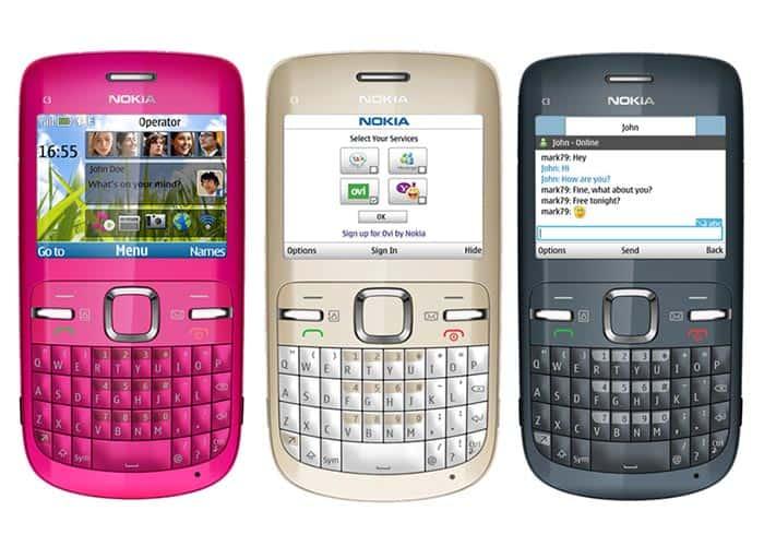 imagen descargar WhatsApp para Nokia C3