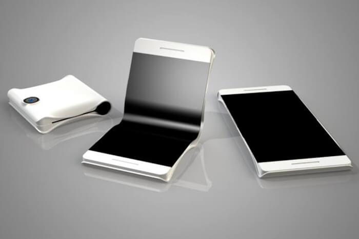 imagen móvil plegable de Samsung