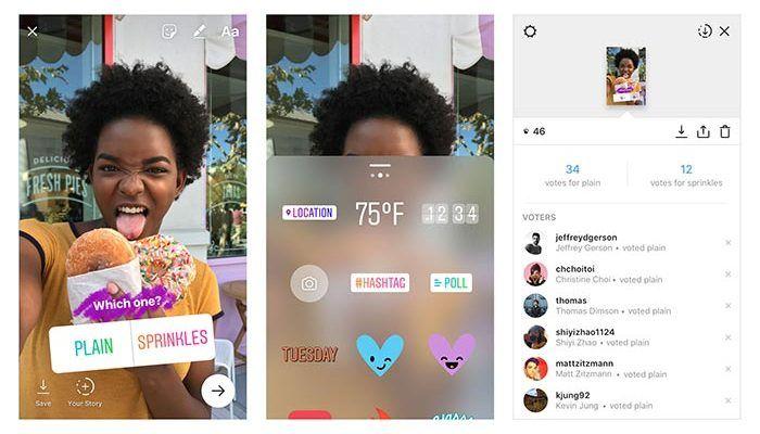 Las encuestas llegan a Instagram Stories