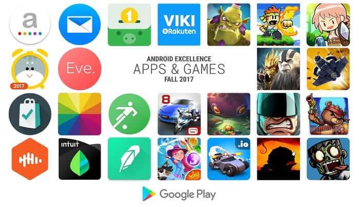 imagen mejores aplicaciones y juegos Android de Otoño del 2017