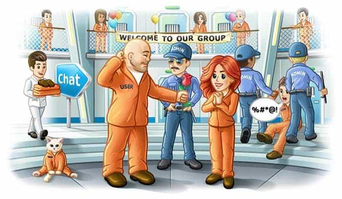 imagen telegram supergrupos