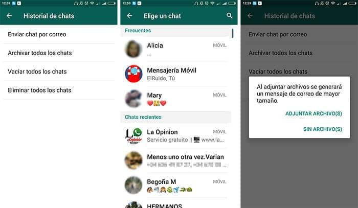 imagenes imagen WhatsApp compartir tus conversaciones sin capturas de pantalla