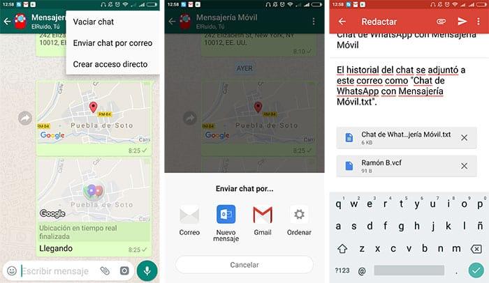imagen WhatsApp compartir tus conversaciones sin capturas de pantalla