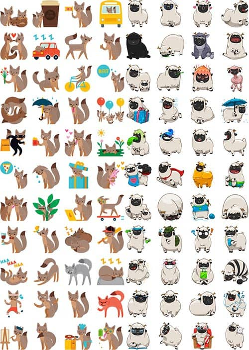 imagen stickers WhatsApp