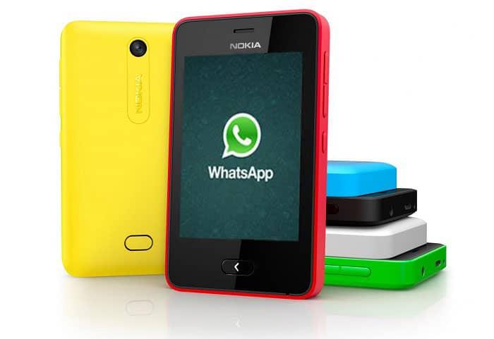 imagen Descargar WhatsApp para Nokia Asha