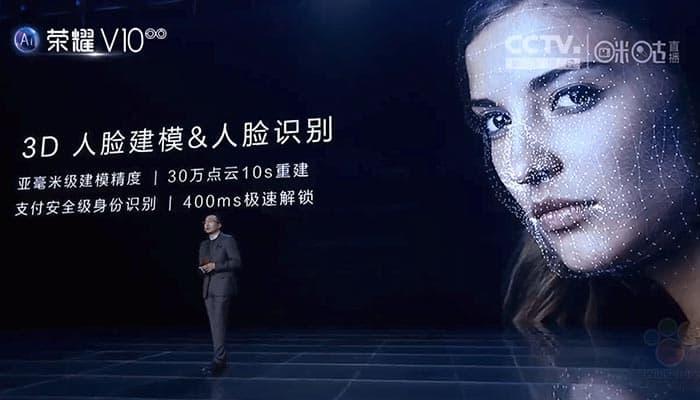 Honor, escaneo facial 3D avanzado y Animoji en futuros smartphones