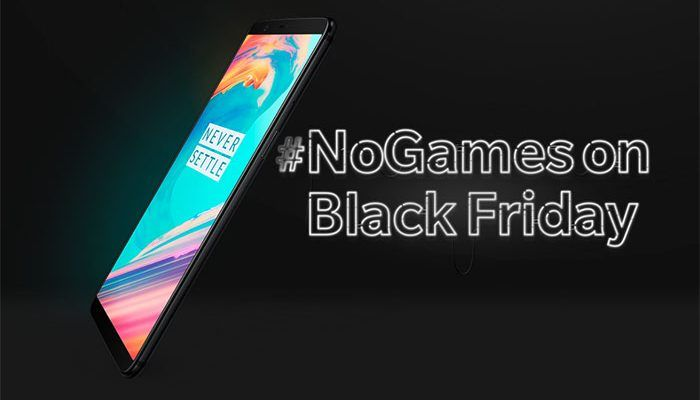 Sorprendente oferta del OnePlus 5T por Black Friday