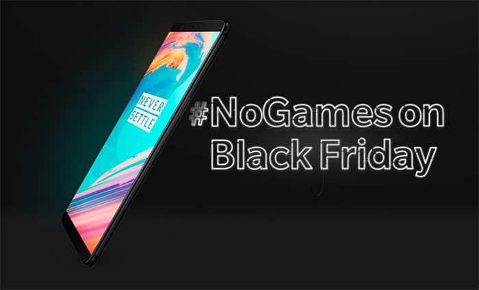 imagen OnePlus 5T por Black Friday