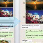 Captura conversaciones en WhatsApp con Pic Stitcher para Android