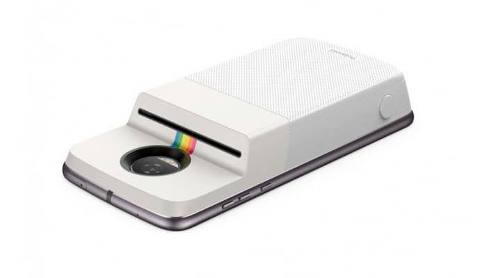 Moto Mod Polaroid Insta-Share Printer: imprime tus fotos con la serie Z