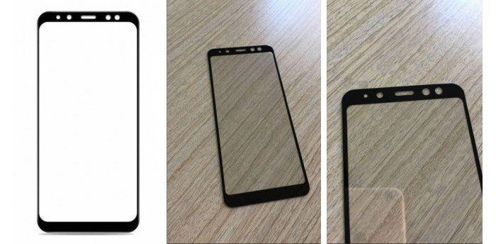 imagen Samsung Galaxy A8 panel frontal