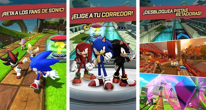 Sonic Forces: Speed Battle ya disponible gratis para Android y iOS