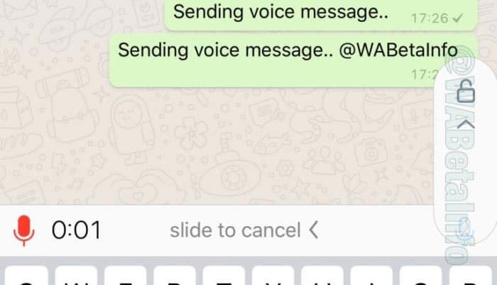 imagen Grabar mensajes de voz en WhatsApp