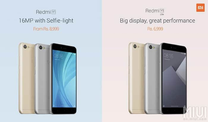 imagen Xiaomi Redmi Y1 Lite