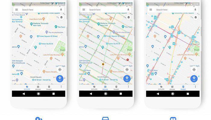 Google Maps renueva sus mapas: así es el nuevo diseño