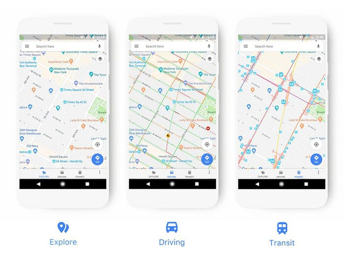 imagen Google Maps renueva sus mapas