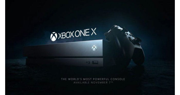imagen Xbox One X