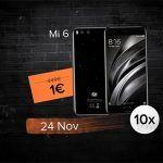 Xiaomi venderá smartphones a 1 euro durante el Black Friday
