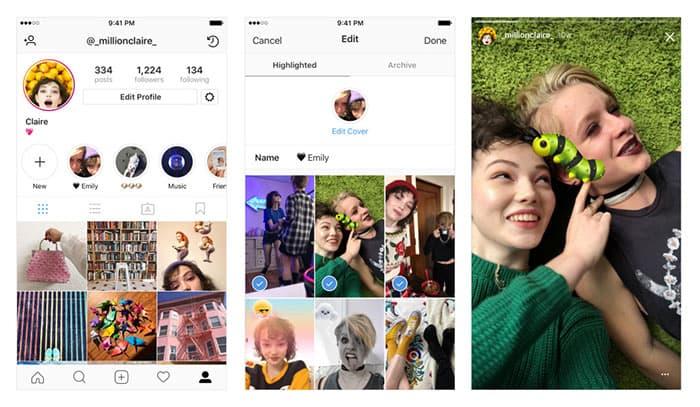 imagen Instagram Historias Destacadas